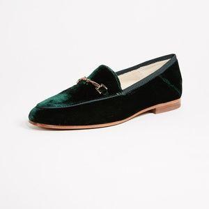 sam edelman loraine loafer green velvet us 8